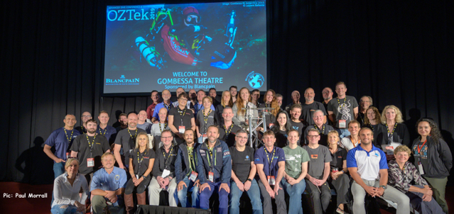 A cast of OZTek2019